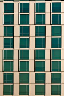 Free Green Window In Building Royalty Free Stock Photo - 17759335