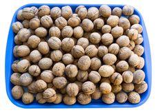 Free Walnuts Plate Stock Image - 17759691