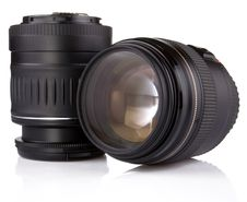 Free Professional Photo Lens Royalty Free Stock Photos - 17759968