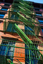 Free New York Tenement Fire Escape Stock Photography - 17760062