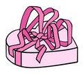 Free Heart Shaped Box Royalty Free Stock Photography - 17765377