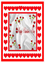 Free Red Roses Valentine Card Stock Photos - 17765663