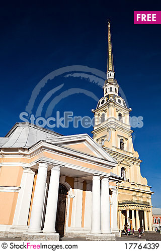 Free Peter And Paul Cathedral, Saint Petersburg Royalty Free Stock Images - 17764339