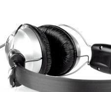 Free Headphones Isolated On White Stock Photos - 17760083