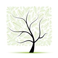 Free Art Tree Beautiful For Your Design Stock Photography - 17760832
