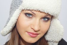 Free Beautiful Girl In Hat Stock Images - 17760874