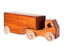 Free A Funky Retro Wooden Truck Or Semi-trailer Royalty Free Stock Images - 17761069