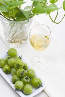 Free White Wine Royalty Free Stock Photo - 17761085