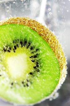 Free Kiwifruit Pulp Close Stock Photo - 17761310