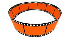 Free 3d Blank Films Ring Royalty Free Stock Images - 17761439