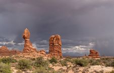 Free Arches National Park Stock Photo - 17761820