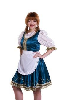 Free German/Bavarian Woman Stock Photography - 17762832
