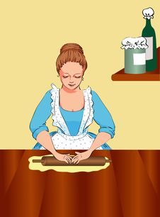 Free Housewife Stock Photography - 17762992