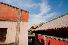 Free Historical Monastery Royalty Free Stock Photo - 17763035