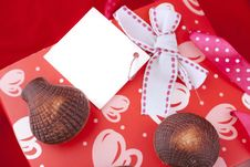Free Chocolates With Celebratory Packing Royalty Free Stock Photo - 17763125
