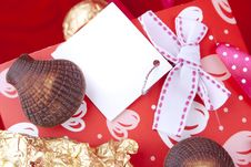 Free Chocolates With Celebratory Packing Stock Images - 17763154