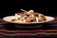 Free Haricot Salad Royalty Free Stock Photos - 17763438