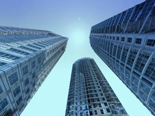 Free Skyscraper Royalty Free Stock Images - 17763609