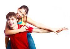 Free Teenage Couple Stock Photo - 17764110