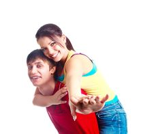 Free Teenage Couple Stock Photos - 17764133