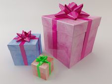 Free Gift Royalty Free Stock Image - 17764236