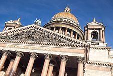Saint Isaac S Cathedral In Saint Petersburg Royalty Free Stock Photography