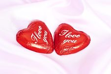 Free Two Sweet Hearts. Stock Photos - 17764533