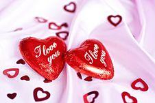 I Love You. Royalty Free Stock Photo