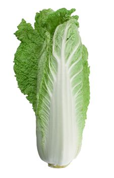 Free Chinese Cabbage Isolated On The White Background Stock Photos - 17764753