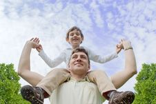 Free Father And Son Stock Photo - 17764970