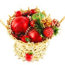 Free X-mas Basket Stock Images - 17765144