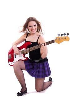 Free Teenage Rockstar. Royalty Free Stock Photography - 17765167