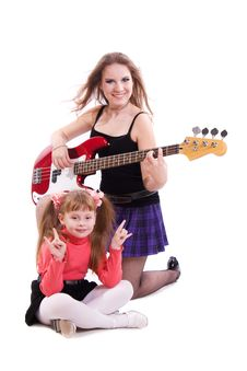 Free Rock Stars. Stock Photo - 17765180