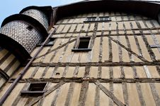 Free Half-timbered Urban House In Troyes, France Royalty Free Stock Image - 17765376