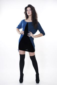 Free Young Fashion Model Stock Photography - 17765612