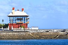 Free Casa Juanita Or The Blue House - Arrieta Royalty Free Stock Photography - 17766337