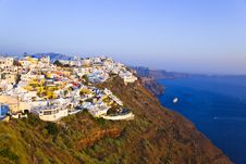 Free Santorini Sunset - Greece Stock Image - 17766631