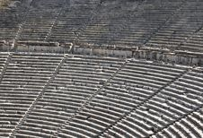 Free Ruins Of Epidaurus Amphitheater, Greece Royalty Free Stock Photography - 17766637