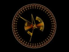 Abstract Time  Background Royalty Free Stock Images