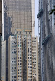 Free Different Buildings In City Royalty Free Stock Image - 17767996