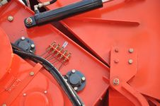 Free Part Of Reaping Machine Stock Image - 17768471