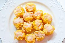 The Dumpling Shrimp Stock Images