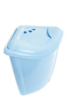 Free Empty Recycling Bin On White Stock Photography - 17769212