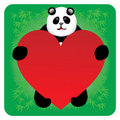Free Panda Message Board Royalty Free Stock Photos - 17774968