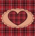Free Retro Valentine Background Royalty Free Stock Photo - 17776245