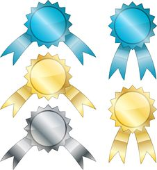 Free Medals Royalty Free Stock Image - 17770116