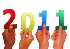Free Holding New Year Stock Photography - 17770332