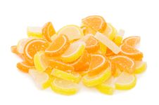 Free Fruit Candy Isolated On The White Royalty Free Stock Images - 17770469