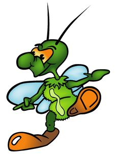 Free Green Bug Stock Photography - 17770822