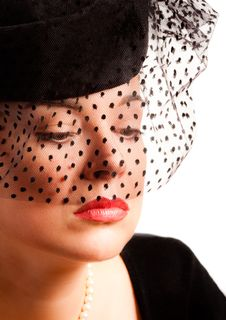 Free Charming   Woman In A Hat Stock Photography - 17771852